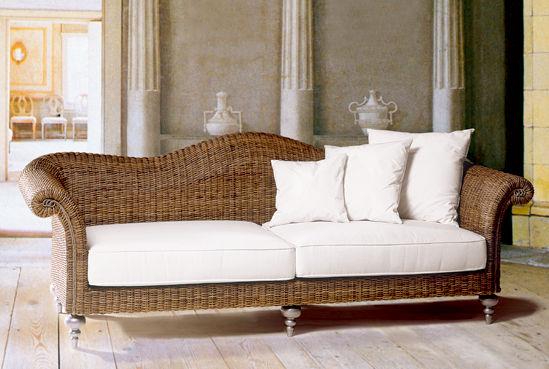 gartenmöbel und loungemöbel aus natur-rattan, kunststoff-geflecht, Garten Ideen